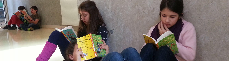 We love reading...